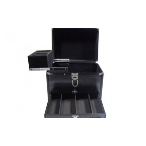 Ascot Medium Case with Slider Draw Black