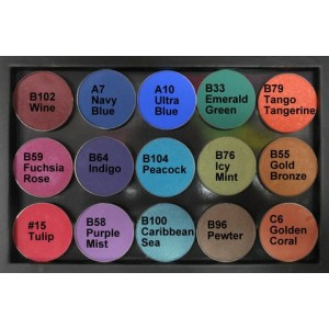 Additional Magnetic Eye Palette 15 Colours